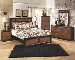ASHLEY QUEEN BEDROOM SET - ASH12- B136 (ASH22)