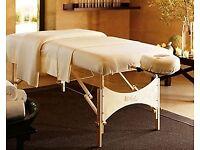£50/30min deep tissue massage