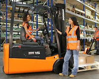 Importance of Forklift Training Mississauga @4165198600 by CN