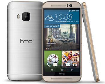 Im Kern mächtig aufgemotzt: Das HTC One M9. (Copyright: HTC)