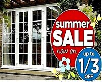 PATIO DOORS ☀ SUMMER SALE ☀ SAVE 1/3 RD OFF NOW !