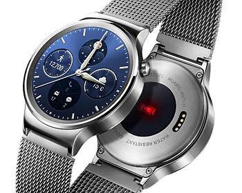 Schmuckstück mit smarten Features: Die Huawei Watch. (Copyright: Huawei)