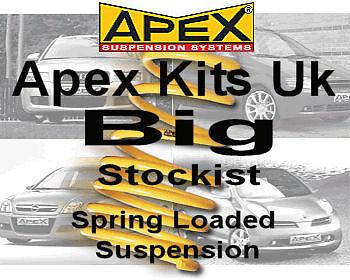Apex Lowering Springs Kit for VW Golf Mk7 2WD Over 1011kg 2013-On  80-7821