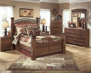 ASHLEY QUEEN BEDROOM COLLECTION - ASH12- B258 (ASH23)