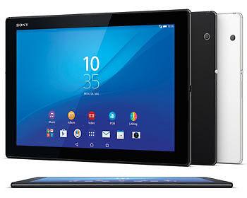 Flach wie kein anderes: Das wasserdichte Sony Xperia Z4 Tablet. (Copyright: Sony)