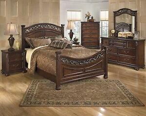 ASHLEY QUEEN BED ONLY SALE