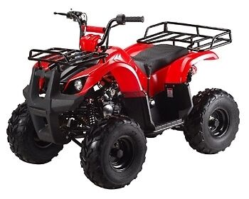 New bigger 2018  Utility ATV 125cc with Reverse