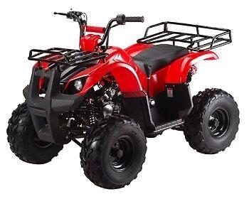 New bigger 2017  Utility ATV 125cc with Reverse