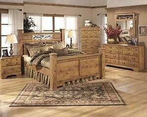 ASHLEY QUEEN BEDROOM SET - ASH12- B219  (BF-207)