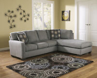 ASHLEY FURNITURE SALE !!!! FABRIC SECTIONAL FOR 999 ONLY