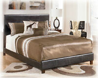 NEW LEATHER PLATFORM BED...OTHER SETS AVAILABLE!!!