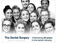 Qualified dental nurse required