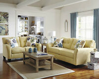 ASHLEY FURNITURE SALE !!!!  FABRIC SOFA FOR $599 ONLY….