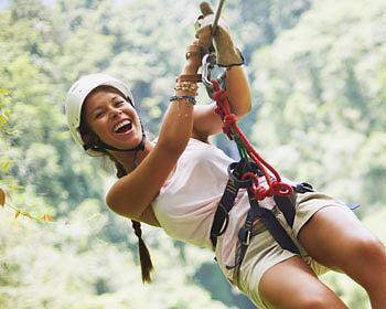 Ein Tag im Kletterparkour ist ein (abenteuer)lustiger Familienausflug. (Thinkstock/ The Digitale)
