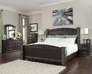 ASHLEY QUEEN BEDROOM COLLECTION - ASH12- B264 (BF-214)