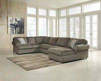 ★★★Today SALE NEW FABRIC SECTIONAL ONLY$1098 CHOICE OF COLOURS