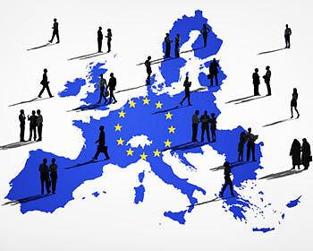 Beim Eurovision Songcontest geht Europa über die Grenzen hinaus. (Copyright: Thinkstock/ über The Digitale)