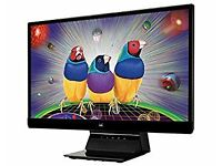 "Viewsonic VX2370Smh-LED FULL HD 24"" IPS HDMI Built In Speaker, Edge 2 Edge GAMING Monitor ONLY £79!"