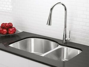 Blanco sink: stainless steel, under mount
