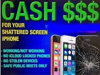 SELL YOU CRACKED SMARTPHONE