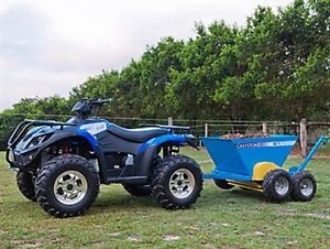Wanted: Manure Spreader ground drive for quad Yarramalong Wyong Area Preview