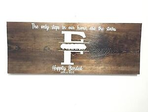 Customized Wooden Signs