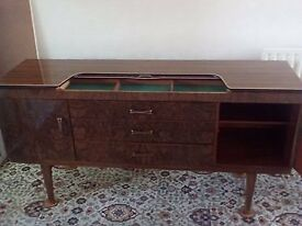 Vintage Beautility High Shine Sideboard 1950's / 60's