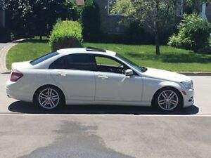 MERCEDES 4 MATIC C-300 SPORT PACKAGE 2011