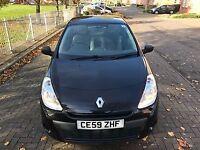 Renault Clio 2009. Full service history. Brand new MOT.