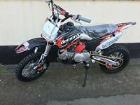 BRAND NEW DEMONX DXR 2 125CC PIT BIKE