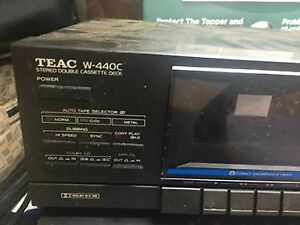 TEAC W-440C Stereo Cassette Deck for Sale