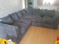 BRAND NEW COUCHES ON SALE LIVERPOOL JUMBO CORD CORNER SOFA AVAILABLE IN BEAUTIFUL COLOURS