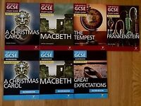 NEW, GCSE (9-1) Revision Books, English, York Notes