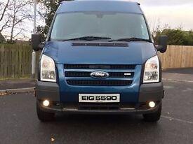 Jan 2007 FORD TRANSIT 2.4 LWB 140 T350 Limited Model £3500 ~~(NO VAT)~~