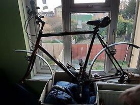 Raleigh Mustang broken bike for sale - parts