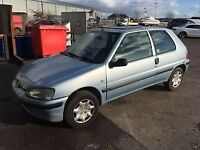 Peugeot 106 registered as a 1100cc has a 1400cc fitted