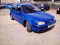Volkswagen Golf 1.6 SR Petrol 1998 MOT Till End Of August 2017 Good Condition P/X WELCOME