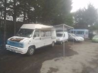 1988 fiat duato maxi canper van the van is cealed underneath new battery ,new leisure battery