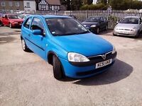Vauxhall Corsa 1.2 Comfort Petrol 2001 MOT Till May 2017 Good Condition P/X WELCOME