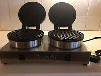 Brand new Dualit Double Waffle Iron for sale!