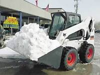Mikes bobcat and plow truck snow removal services (403)400-5535