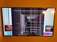 SAMSUNG 4k SMART 43'' TV spares and repair