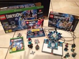 Lego Dimensions Starter Pack with extra characters/items for Xbox One