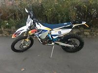 HUSQVARNA FE450 ENDURO/ GREEN LANNING BIKE NOT KTM (65 PLATE)