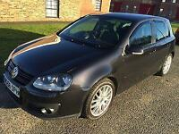 2008 58 Volkswagen Golf 2.0 GT TDI Black 6 Speed Manual