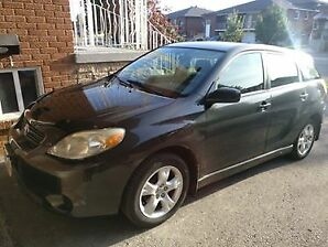 CAR FOR SALE - Toyota Matrix 2005 model GRY (145,000 km driven)