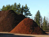 Mulch, Soil, Decorative Stone, DELIVERED RIGHT TO YOUR DRIVEWAY