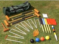 Top quality longworth croquet set