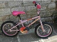 Apollo Roxie Pink Child's Kid's Girl's Bike 16 (2 Bikes Avail £20 Each)