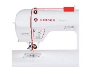 Singer XL-580 Futura Embroidery And Sewing Machine 250 design Kitchener / Waterloo Kitchener Area image 5